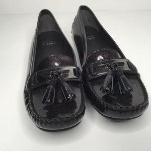 Stuart Weitzman loafers driving shoes.
